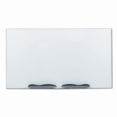 Balt Ultra-Trim Magnetic Board, Dry Erase Porcelain-on-Steel, 96 x 48, White/Silver                                               