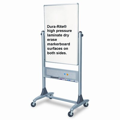 "Balt Best-Rite® Reversible 3' 4"" x 2' 6"" Whiteboard"