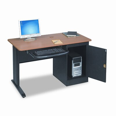 "Balt BALT LX48 Computer Security 48"" W x 24"" D Workstation Table"