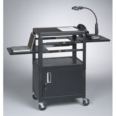 Balt Dual Adjustable Laptop Cart