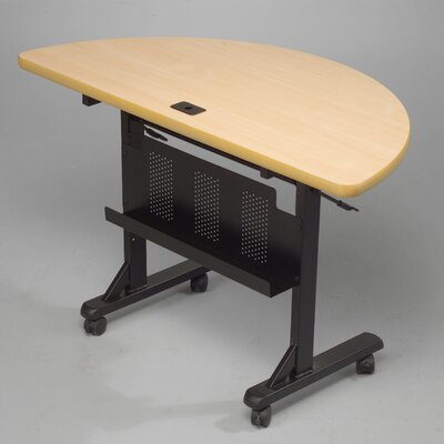 "Balt 48"" W Half-Round Flipper Table with Optional Seating"