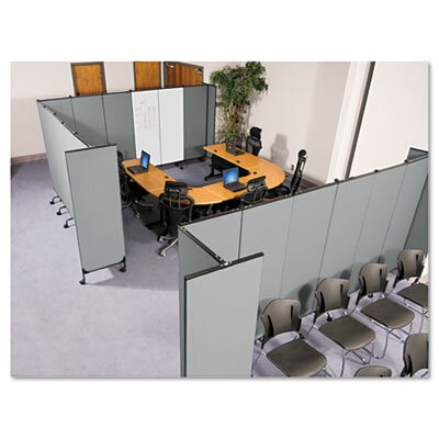 "Balt GreatDivide 96"" x 64"" Two Panel Partition"