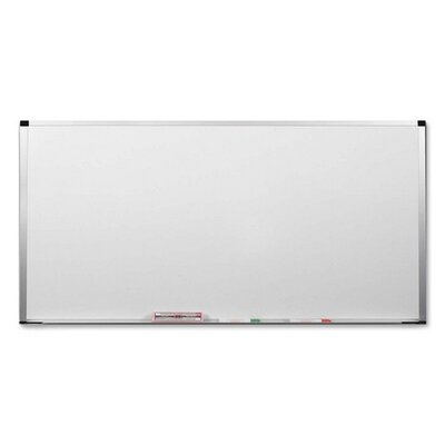 Balt Markerboard/Magnetic TackBoard, 4'x8', White/AM Trim