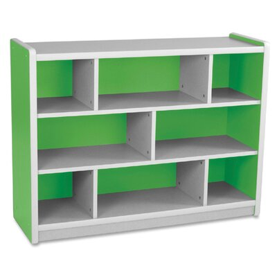 "Balt Kids 8 Storage Compartment,47-1/4""x15-1/2""x35-1/2"",Green"
