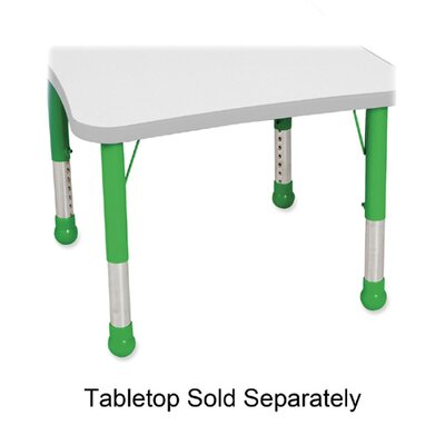 Balt Kids Leg Set, for Tables, Green