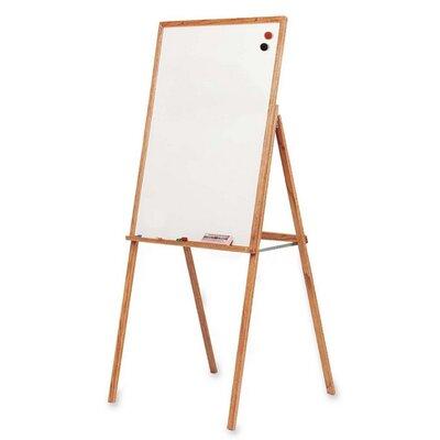 "Balt Wooden Presentation Easel, 30""x31-1/2""x69-1/2"", Oak"