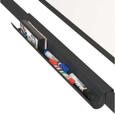 """Balt Cherry Lumina Reversible 3' 4"""" x 2' 6"""" Whiteboard"""