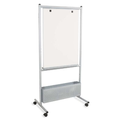 """Balt Nest Easels, Double Sided, 31-1/2""""x24""""x72"""", Silver"""