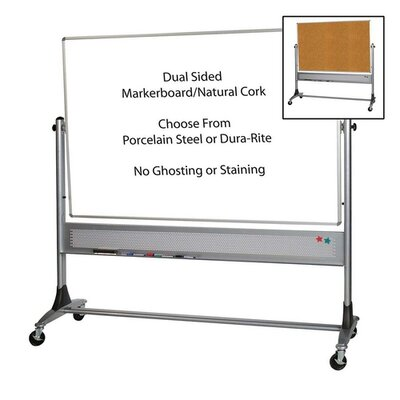 Balt Mobile Reversible Whiteboard
