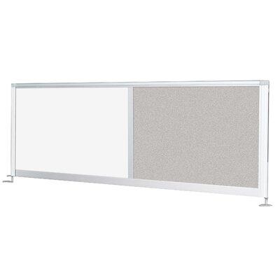"Balt Iflex 17"" H x 58-66"" W Desk Privacy Panel"