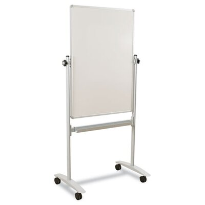 Balt Mobile Reversible 30 x 40 Whiteboard in White/Silver