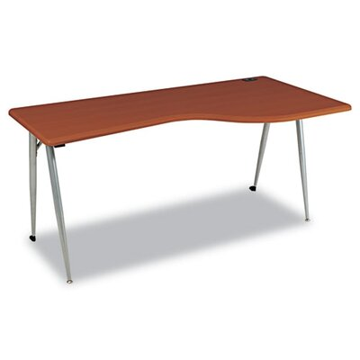 Balt IFlex Series Full Table in Cherry/Silver