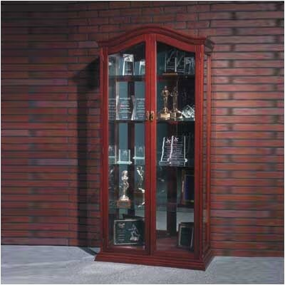 Balt Large Cherry Oak Display Case
