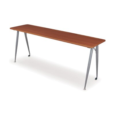 Balt iFlex Seminar Training Table in Cherry and Silver