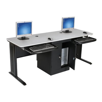 Balt LX-Series Workstation in Gray and Black