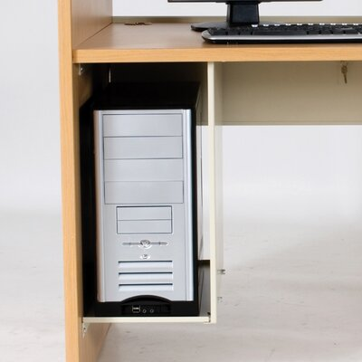 Balt CPU Holder for Teak H Carrel Study Desk