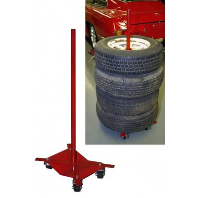 The Auto Dolly Tire Stacker Attachment