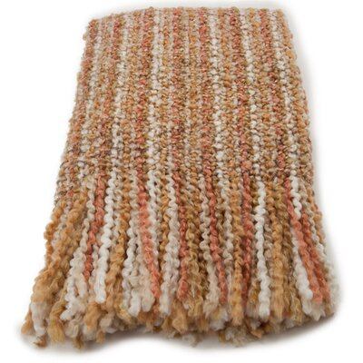 Kennebunk Home Stria Striped Woven Acrylic / Polyester Throw