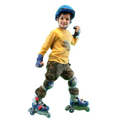 Chicago Skate Adjustable Boy's Inline Skates Training Set