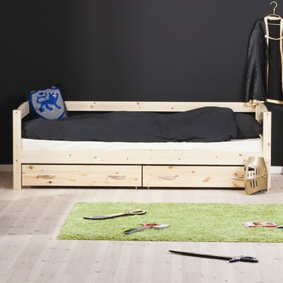 Trendy Day Bed Frame With Drawers Wayfair Uk