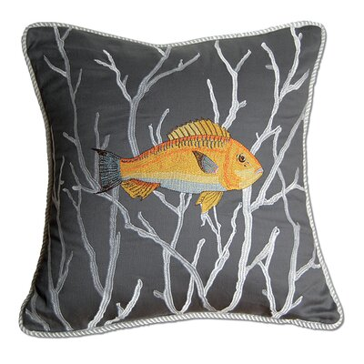 I Sea Life Sea-ing Eye to Eye Indoor Fish Pillow (Right Facing)