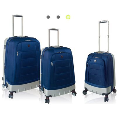 Moskow 3 Piece Hybrid Luggage Set