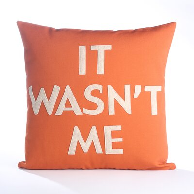 House Rules It Wasn't Me Pillow