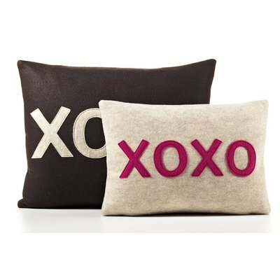 "Alexandra Ferguson ""XOXO"" Decorative Pillow"