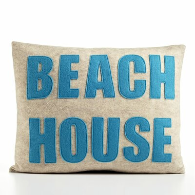 "Alexandra Ferguson ""Beach House"" Decorative Pillow"