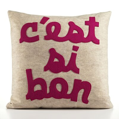 "Alexandra Ferguson ""C'est Si Bon"" Decorative Pillow"