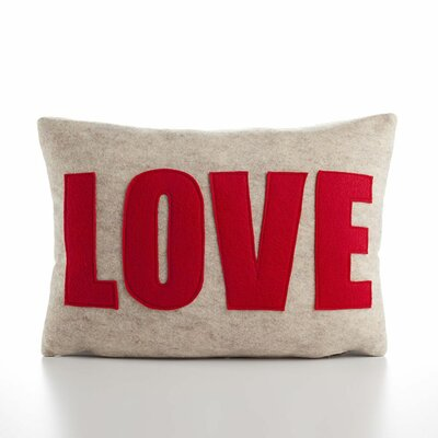 Alexandra Ferguson &quot;Love&quot; Decorative Pillow