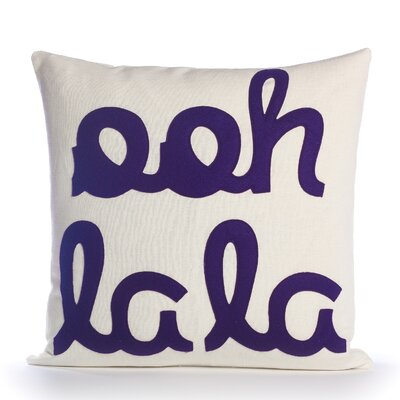 Alexandra Ferguson It Starts with a Kiss Ooh La La Decorative Pillow