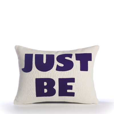 "Alexandra Ferguson Zen Master ""Just Be"" Decorative Pillow"