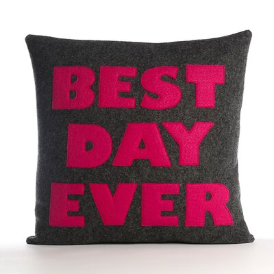 "Alexandra Ferguson ""Best Day Ever"" Pillow"