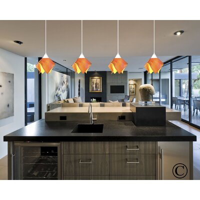 Jezebel Gallery Radiance Lily 1 Light Pendant