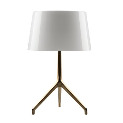 "Foscarini Lumiere 15.75"" H Table Lamp with Empire Shade"