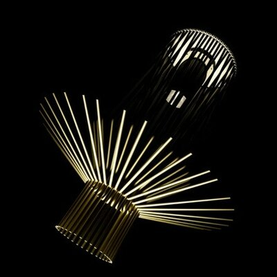 Foscarini Allegretto Assai Pendant in Gold