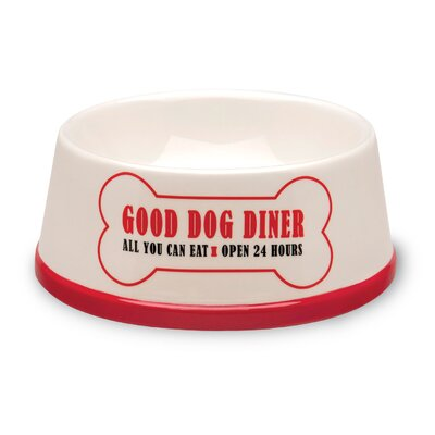 Good Dog Food and Water Bowl
