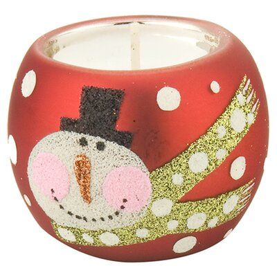 October Hill Snowman Tealight