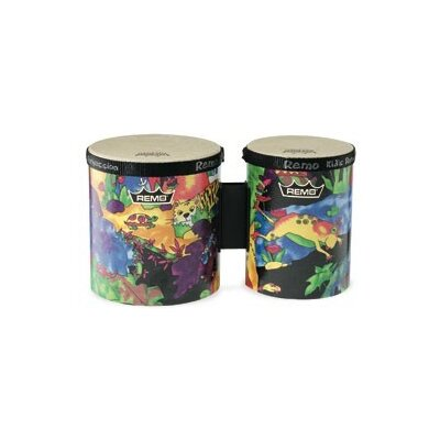 Remo Kids Percussion Rain Forest Fabric Bongo