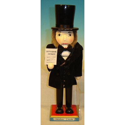 Horizons East Abraham Lincoln Nutcracker