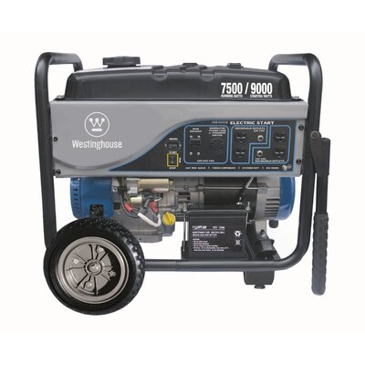 7,500 Watt Electric Start Portable Generator - WH7500E