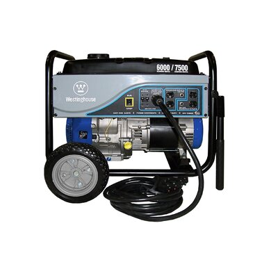 Westinghouse Power Products 6,000 Watt Storm Unit Portable Generator with 25' Power Cord