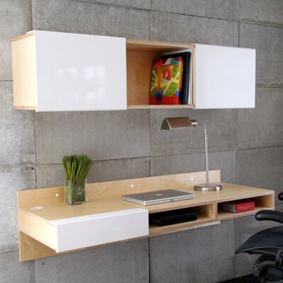 "Mash Studios 3X 15"" Wall-Mounted Bookcase"