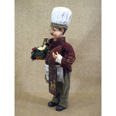 Karen Didion Originals Classic Home Tuscan Kitchen Chef Figurine
