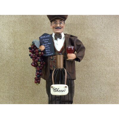 Karen Didion Originals Classic Home Wine Bottle Cork Collector Figurine