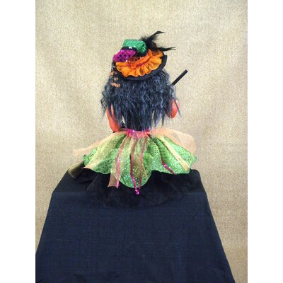 Karen Didion Originals Spooktacular Halloween Glitzy Witch Figurine