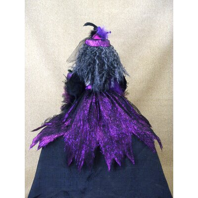 Karen Didion Originals Spooktacular Halloween Skeleton Witch Figurine