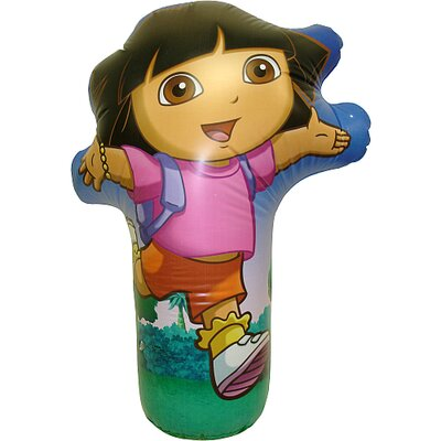Rand International Nickelodeon Dora the Explorer Inflatable 3D Bop Bag