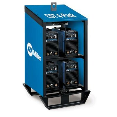 Miller Electric Mfg Co 280 And Maxstar® 200 Rack With Four CST 280 Units Linked For 220-230/460/575 Volt With Dinse Style Connectors 3 Phase 60 Hertz